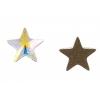 Swarovski Flatback 2816 Star 5mm Aurora Borealis Crystal